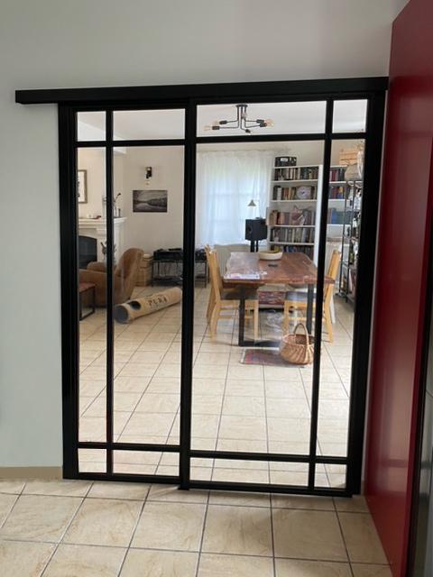 Porte verrière atelier