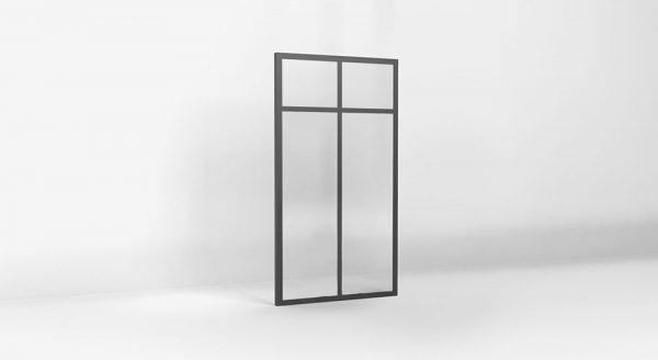 verriere atelier hauteur 1450-2 vitrages traverse
