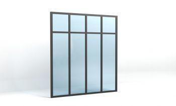 verri re atelier avec traverse verri re atelier standard verriere atelier d 39 artiste. Black Bedroom Furniture Sets. Home Design Ideas