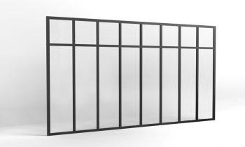 verriere atelier traverse hauteur 1500-8 vitrages
