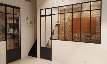 verriere atelier hauteur 1450-1 vitrage traverse